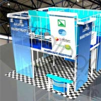 3D visualization of the stand